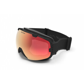 Spektrum G002 Essential Goggles, black/brown mirror revo red